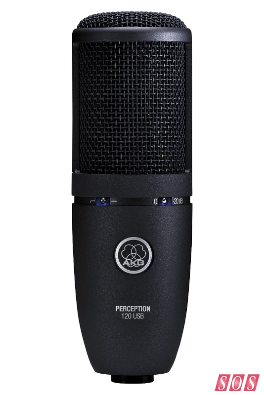Micro thu âm AKG Perception 120