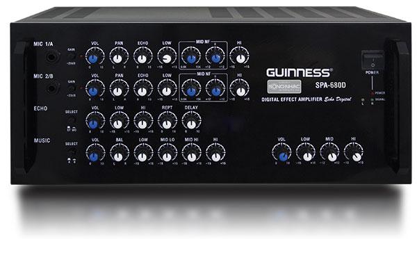 Amply 2 kênh Guiness SPA-680D