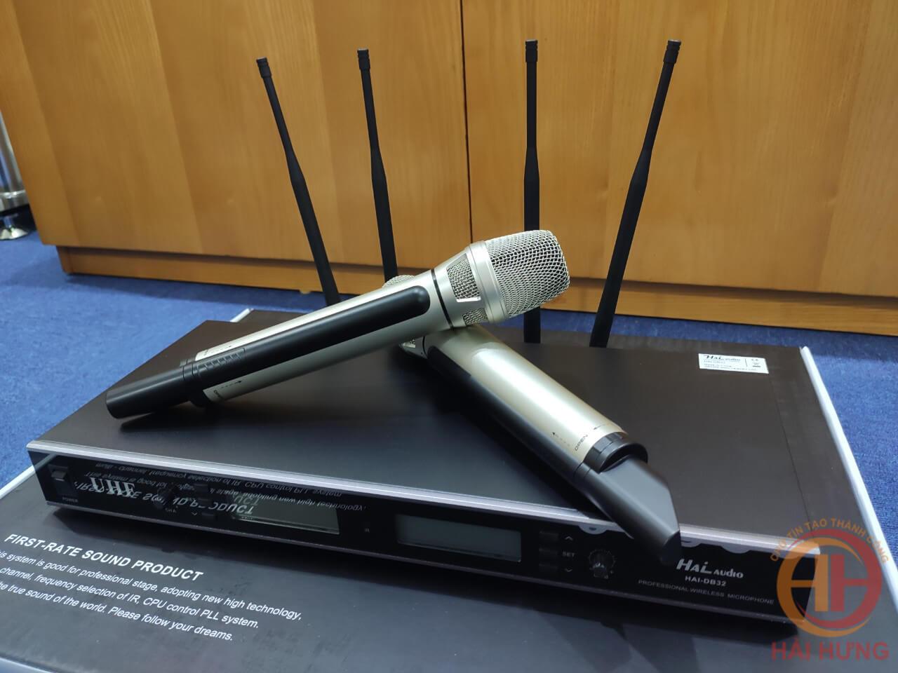 Micro không dây Hai Audio DB32 chất lượng âm thanh tuyệt đỉnh