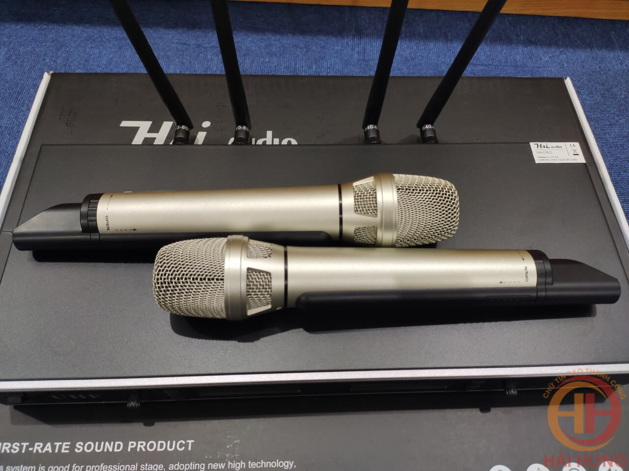 Bộ Micro không dây D832 Hai Audio tại Hải Hưng Audio