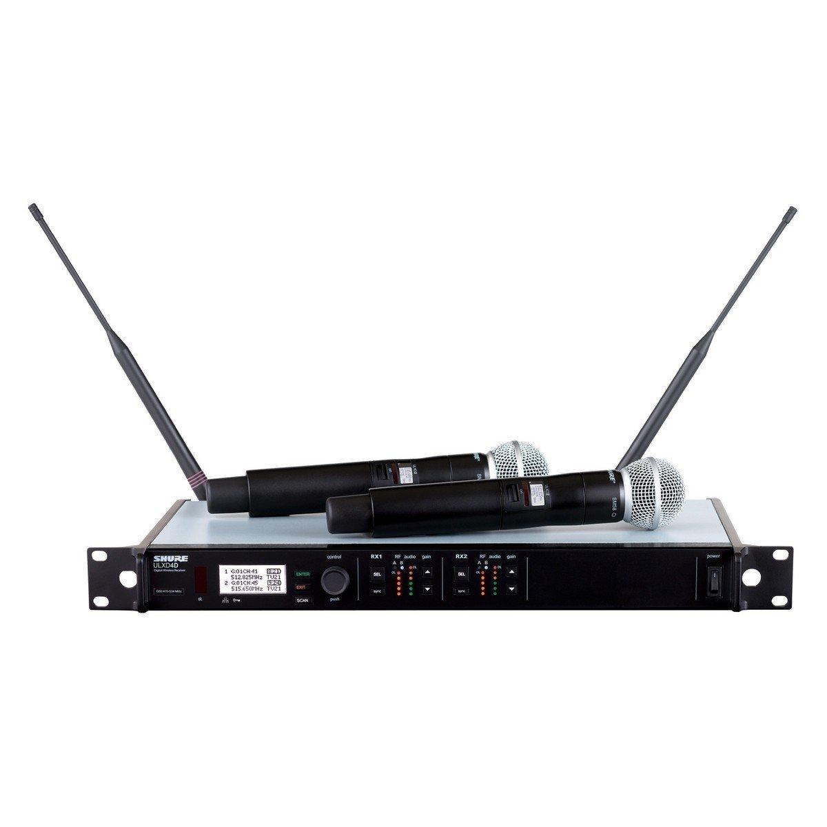 Bộ Microphone không dây Shure ULXD24D/SM58