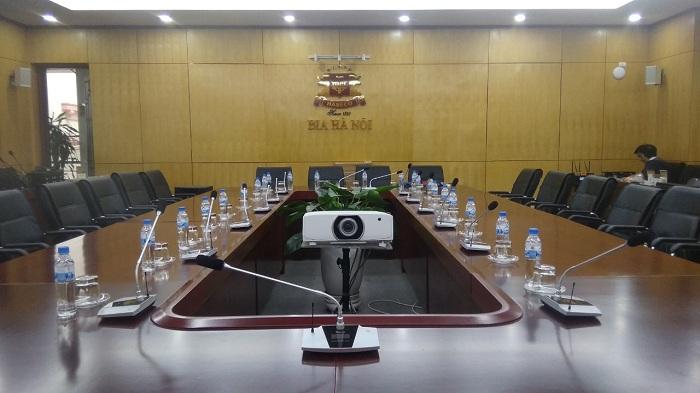 Hải Hưng lắp đặt hệ thống hội thảo Hai-Audio cho Công ty Habeco Hà Nội
