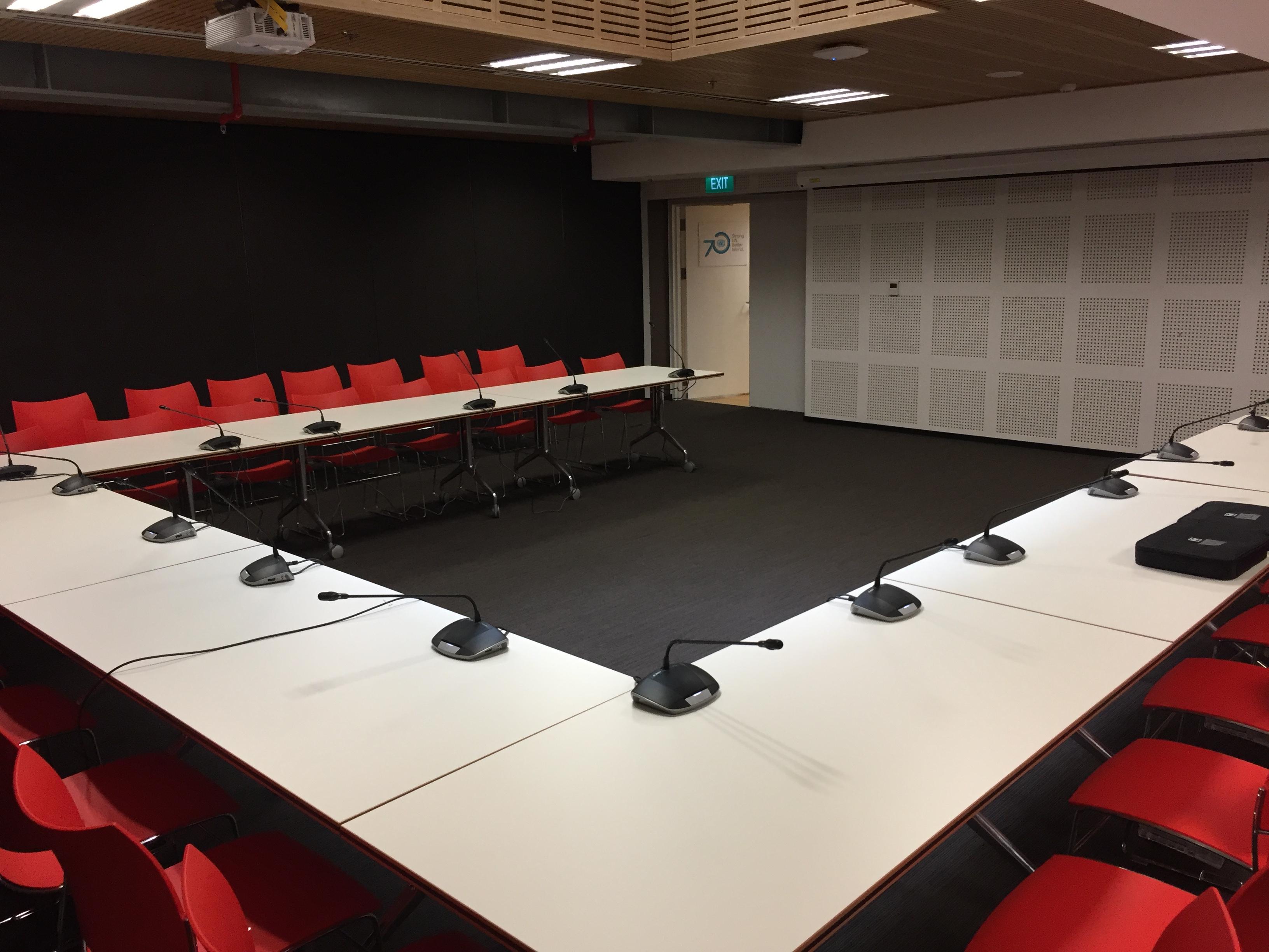 Hải Hưng lắp đặt hệ thống âm thanh cho phòng họp Liên Hợp Quốc