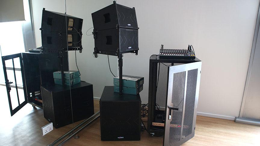 Audio Hải Hưng lắp đặt hệ thống loa Bost cho khách hàng