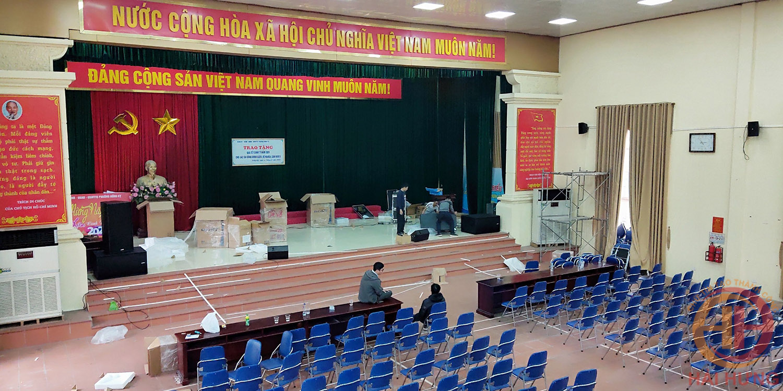 Audio Hải Hưng lắp đặt hệ thống âm thanh hội trường tại Đồng Kỵ - Bắc Ninh