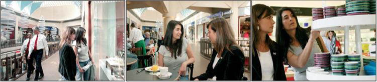 Hệ thống âm thanh hội thảo Bosch Plane được sử dụng tại trung tâm mua bán