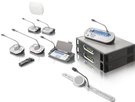 Các thiết bị trong hệ thống hội thảo không dây DCN