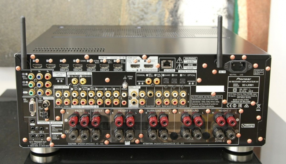 Amply AV Hi-end 4k 11.2 Pioneer SC-LX901