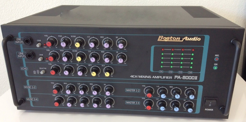 Amply Boston PA 8000II