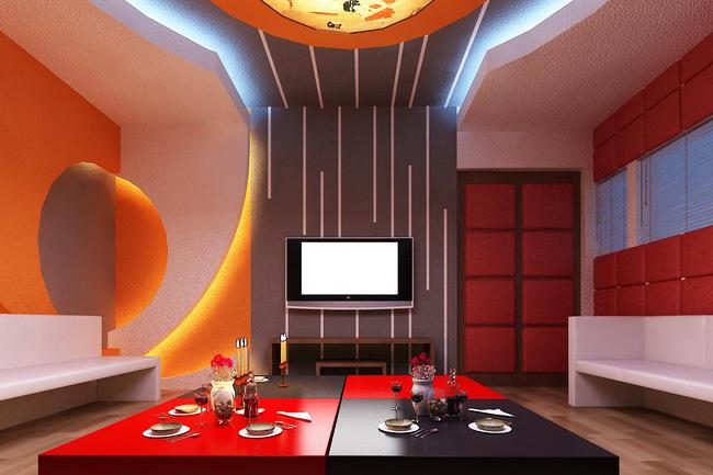 Phòng karaoke gia đình