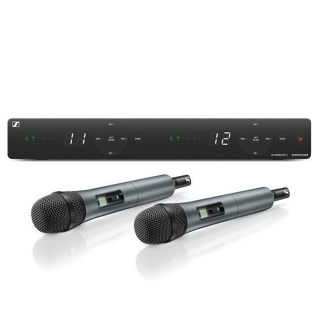 Bộ Micro không dây cầm tay dải tần UHF Sennheiser XSW 1-835