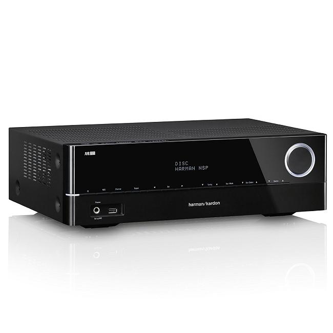Ampli Receiver 5.1 kênh Harman AVR161/230 kết nối Internet - Bluetooth