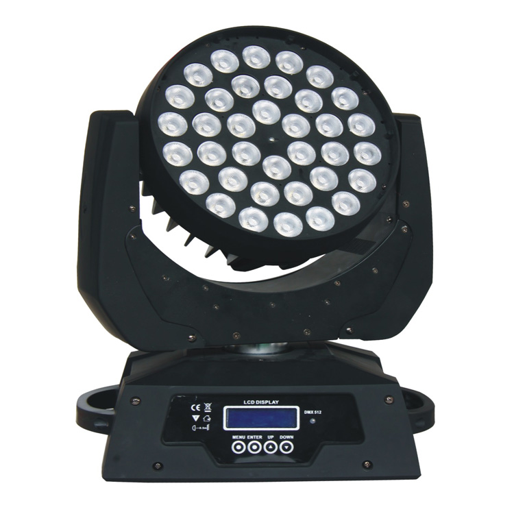 Đèn LED Moving head (RGBW 4in1) with zoom (wash) Lqe MHY3608T
