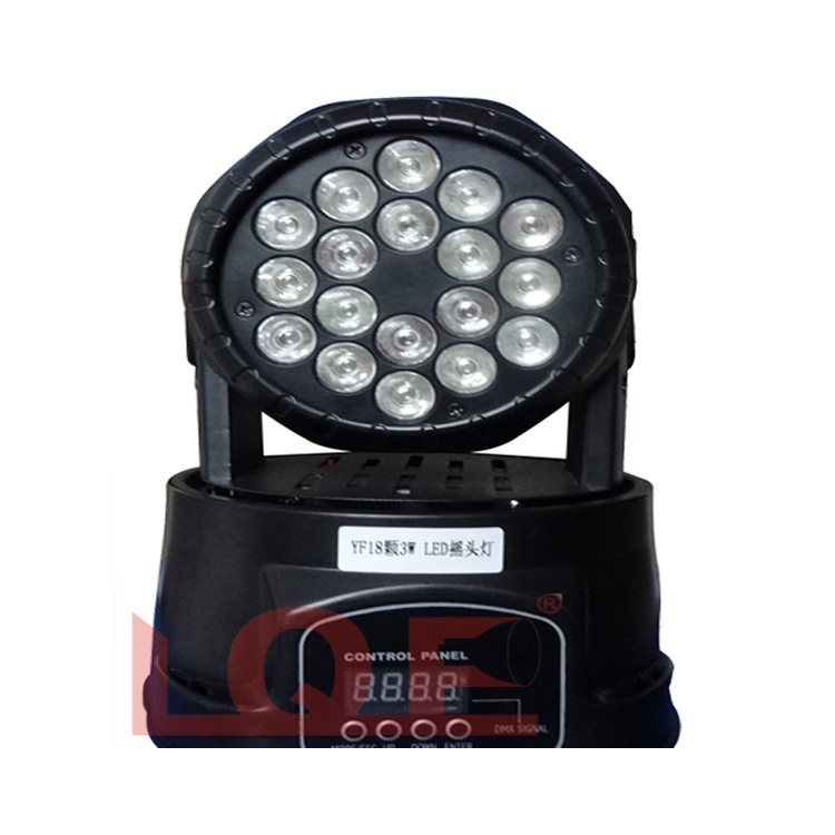 Đèn LED moving head (RGB) Lqe MHY1803