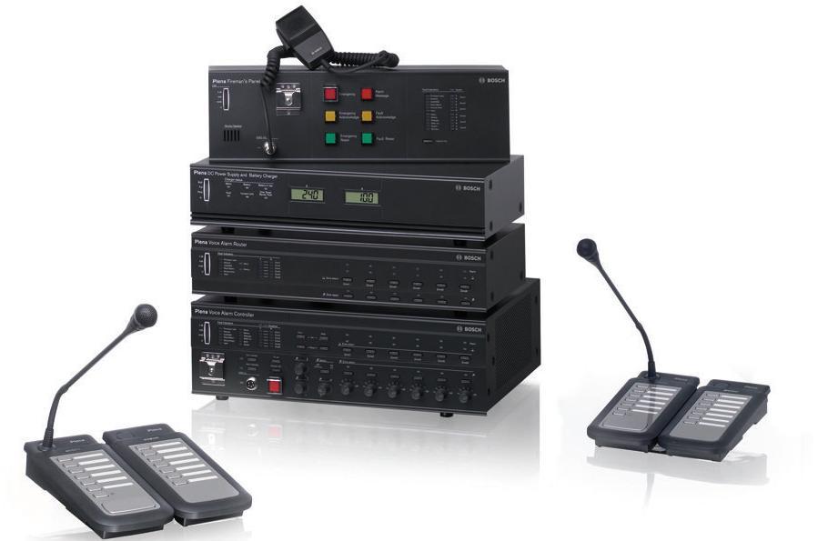 Hệ thống âm thanh thông báo thương hiệu Bosch