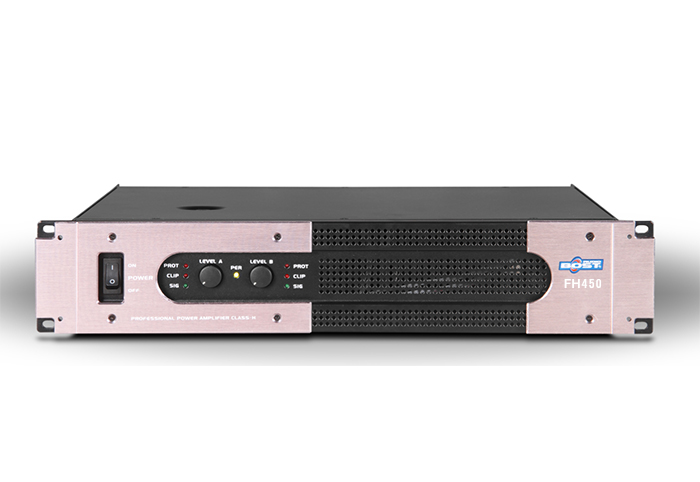 Amplifier công suất 2 kênh Bost Audio FH450 (450Wx2)
