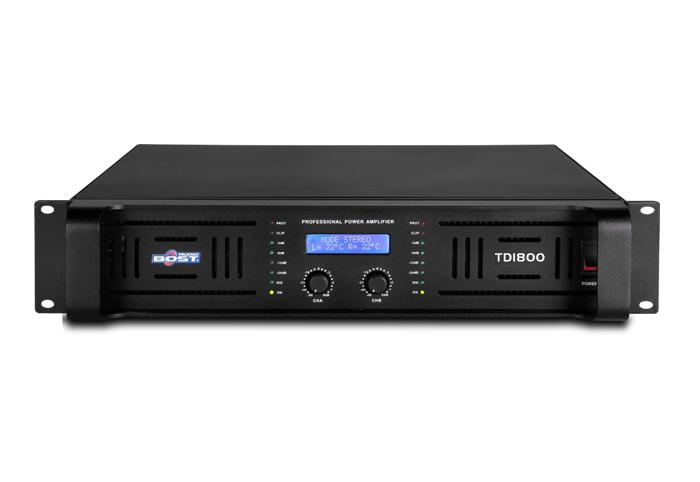 Amply Bost TD1800 công suất lớn lên tới 1800W x 2 kênh