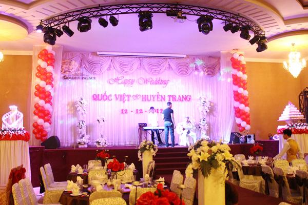 Kinh nghiệm setup hệ thống âm thanh cho nhà hàng tiệc cưới